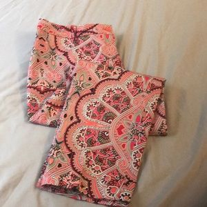 East 5th Paisley Ankle Pants